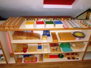 I materiali nel metodo montessori