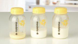 Latte materno in contenitore sterile